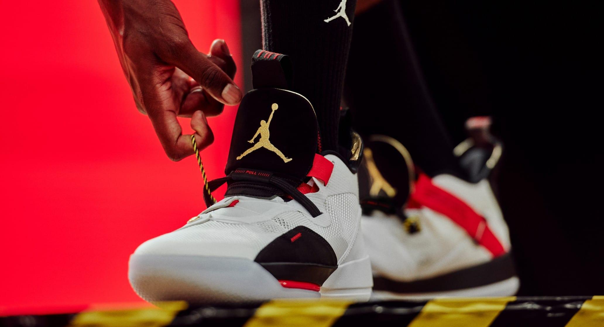 Đây là Air Jordan 33, mẫu giày bóng rổ độc nhất, chưa từng thấy từ trước đến nay - Ảnh 4.