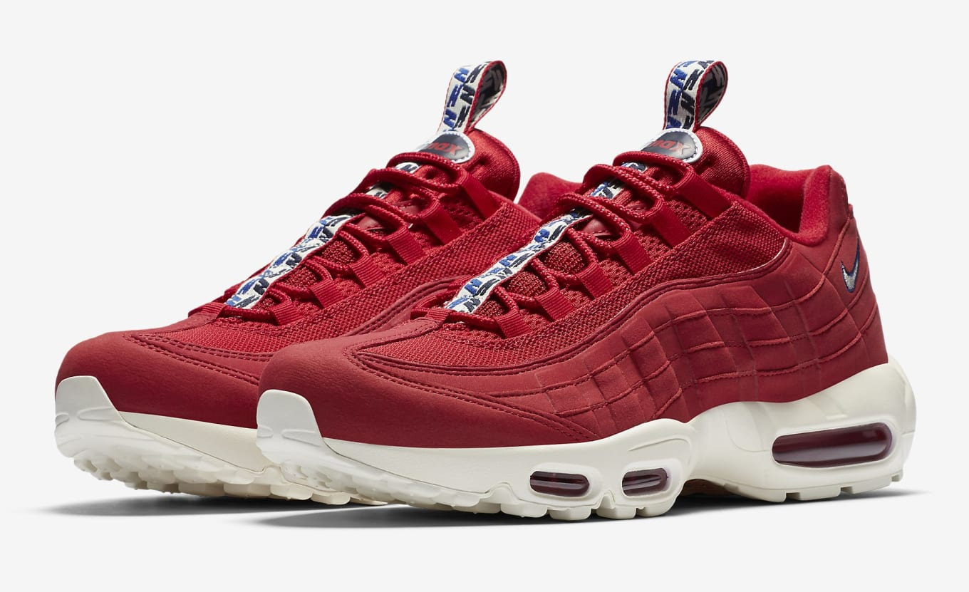 new style 4f3b6 3cfaa Nike Is Releasing a Pack of Air Max 95s With Special Pull Tabs. In  patriotic red, white, and blue options.