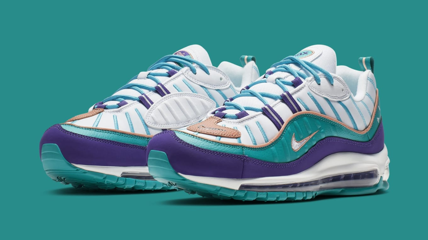 b71da47943 Nike Air Max 98 'Court Purple/Terra Blush-Spirit Teal' 640744-500 ...