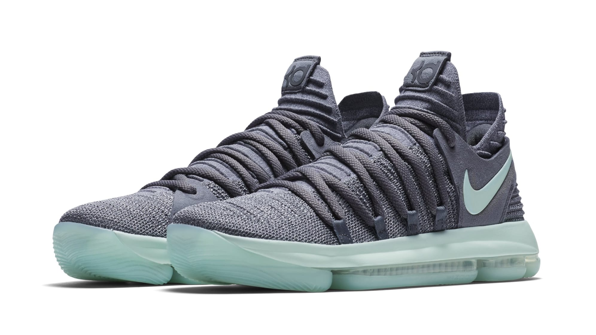 Nike KD 10 Glow In Dark White Shoes