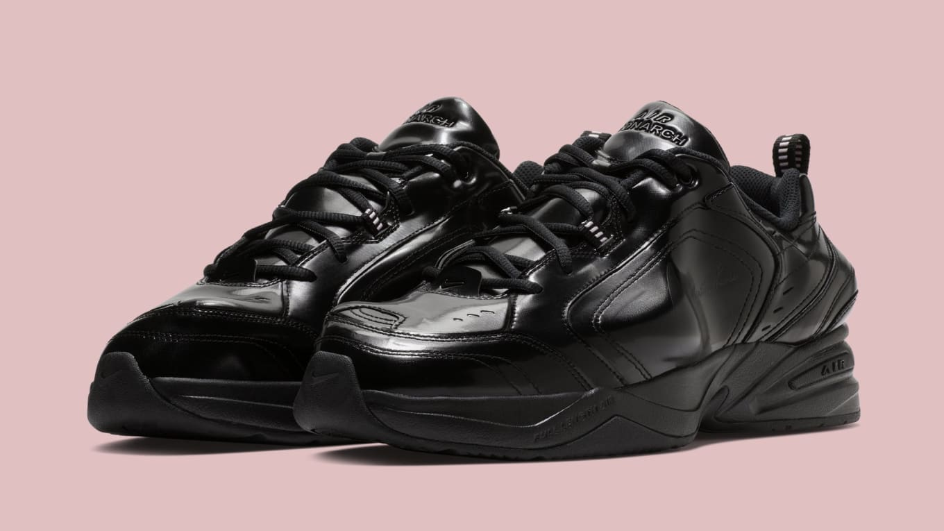 Nike x Martine Rose Air Monarch 4 Black & Soft Pink