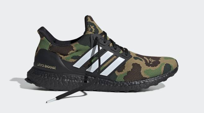 1712e0fa77caa Bape s Adidas Ultra Boost Collab Is Releasing Soon