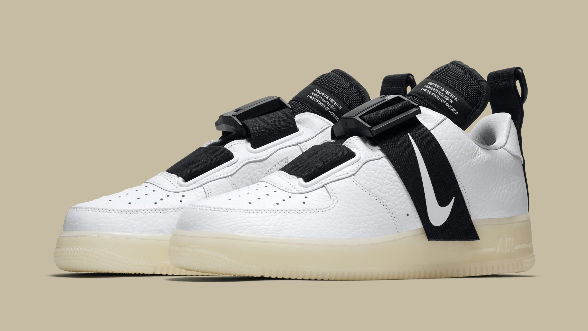 Nike Air Force 1 QS With Glow in the Dark Soles Edition