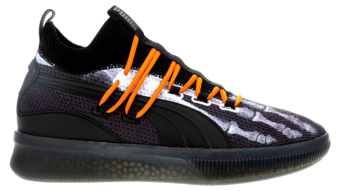 974af2c3e096 Puma Celebrates Halloween With X-Ray Sneakers. The latest addition to the Clyde  Court series.