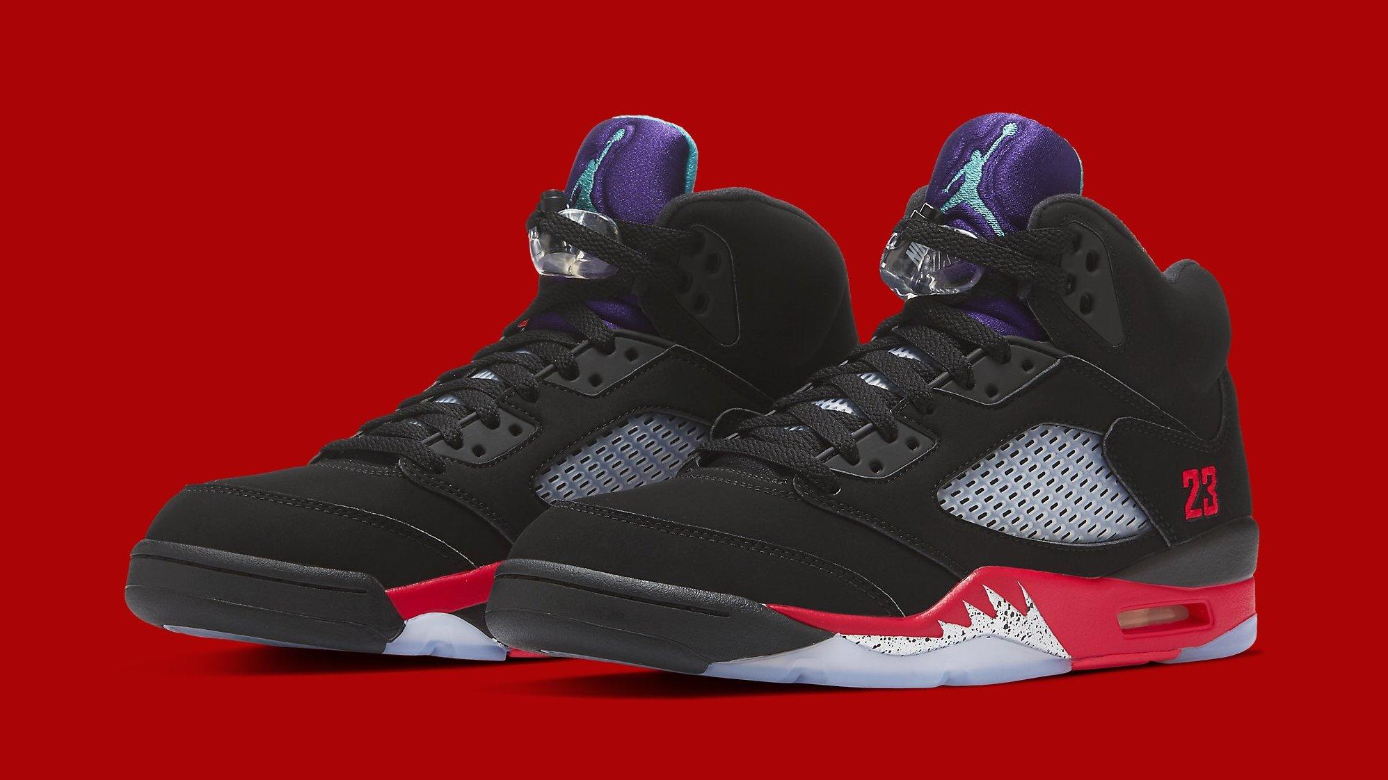Air Jordan 5 Retro 'Top 3' Release Date CZ1786-001 | Sole Collector