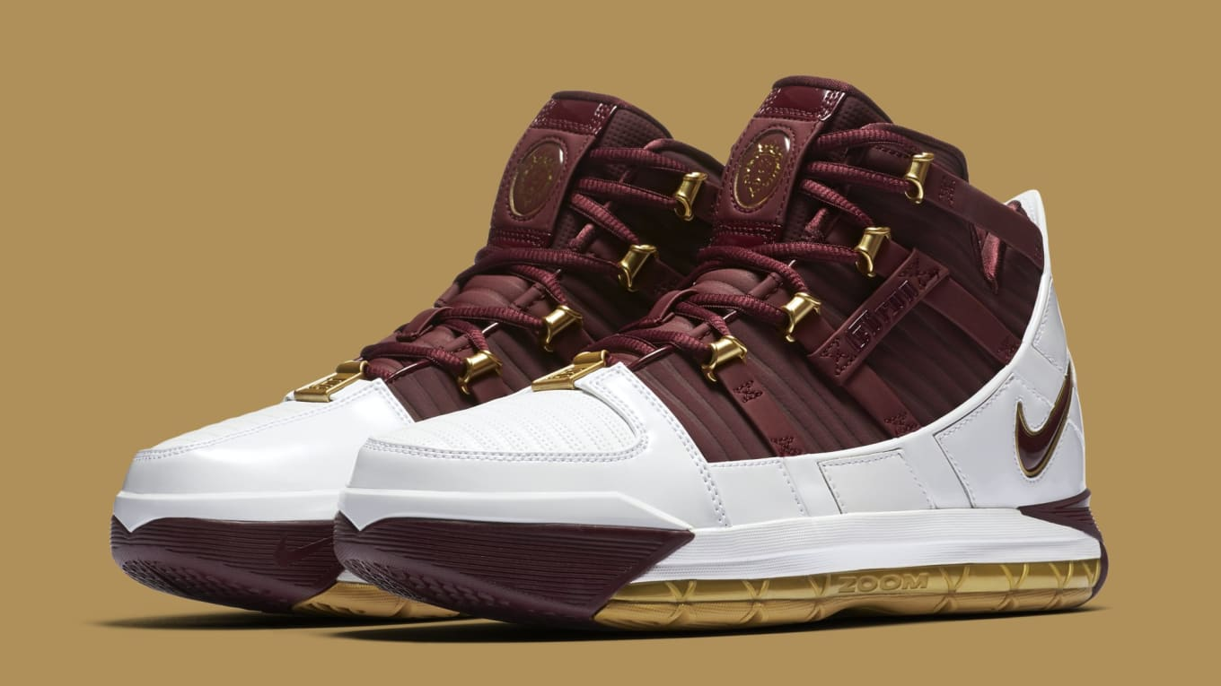 3b8ca4e4e3c Nike Zoom LeBron 3 III Christ the King CTK 2018 Release Date