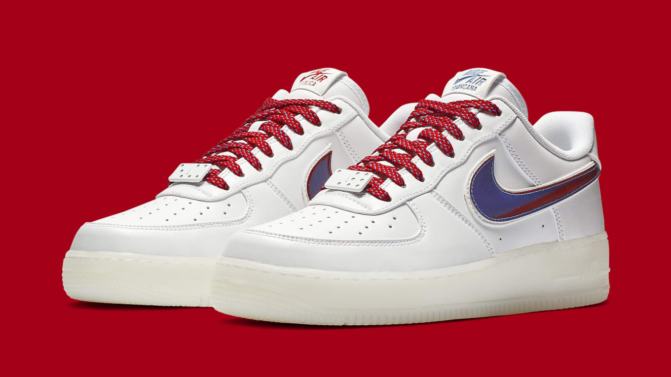 e574f65e70f Nike Air Force 1 Low De Lo Mio Release Date BQ8448-100 Pair