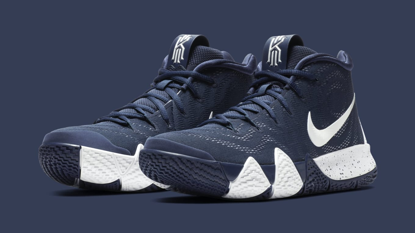 ad2f368a7ea4 Nike Dials Down the Kyrie 4. Team bank-style colorway on the way.