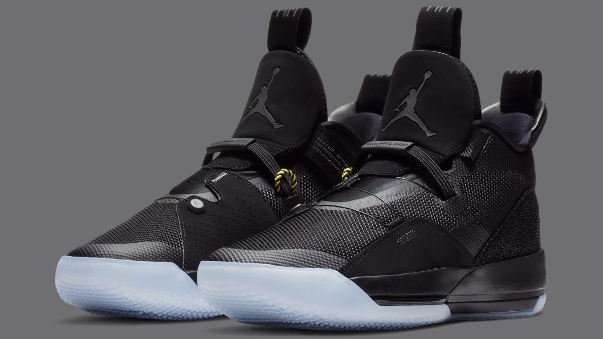 c8162ce31978ad Air Jordan 33  Utility Blackout  Black White-Dark Grey AQ8830-002 Release  Date