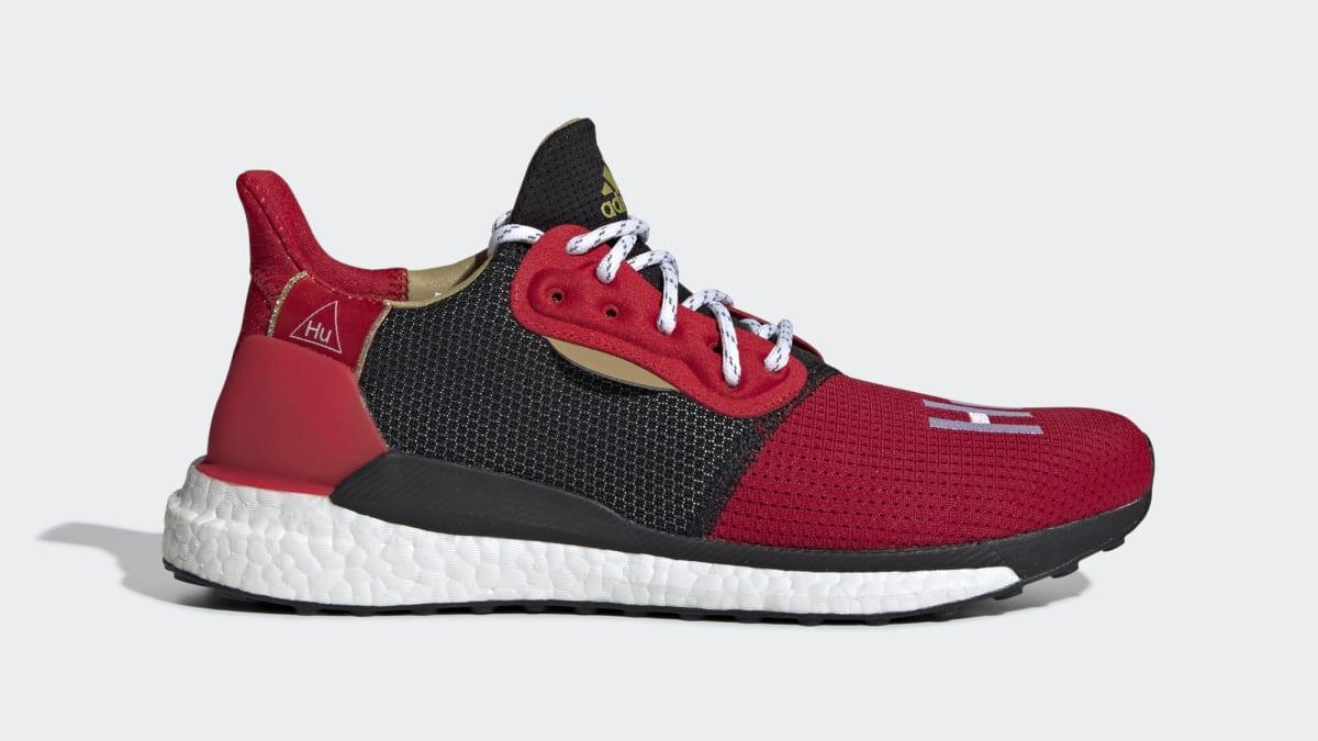 f1208cf39 Pharrell x Adidas Solar Hu Glide ST  Chinese New Year  EE8701 Release Date