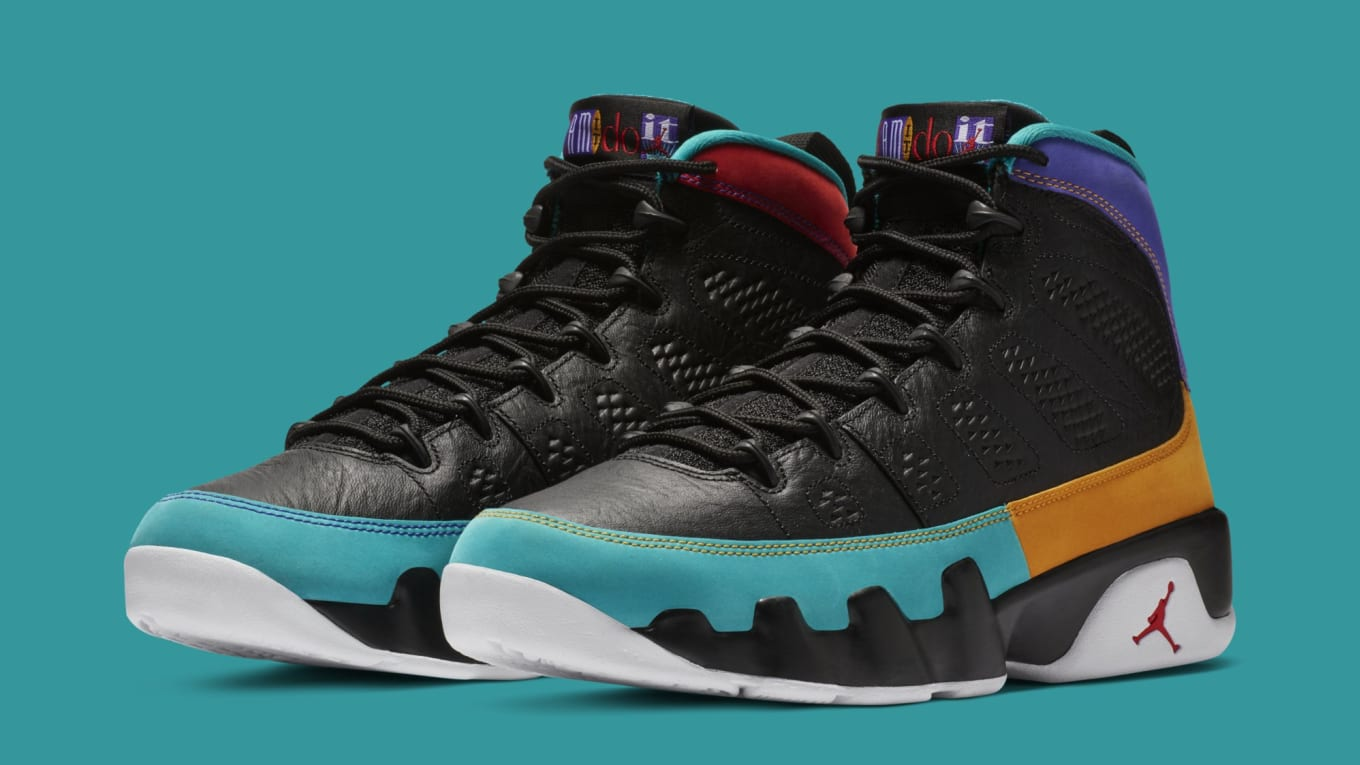 506a44db03e A Vintage Ad Campaign Inspired the Latest Air Jordan 9. Latest look at the  'Dream It, Do It' colorway.
