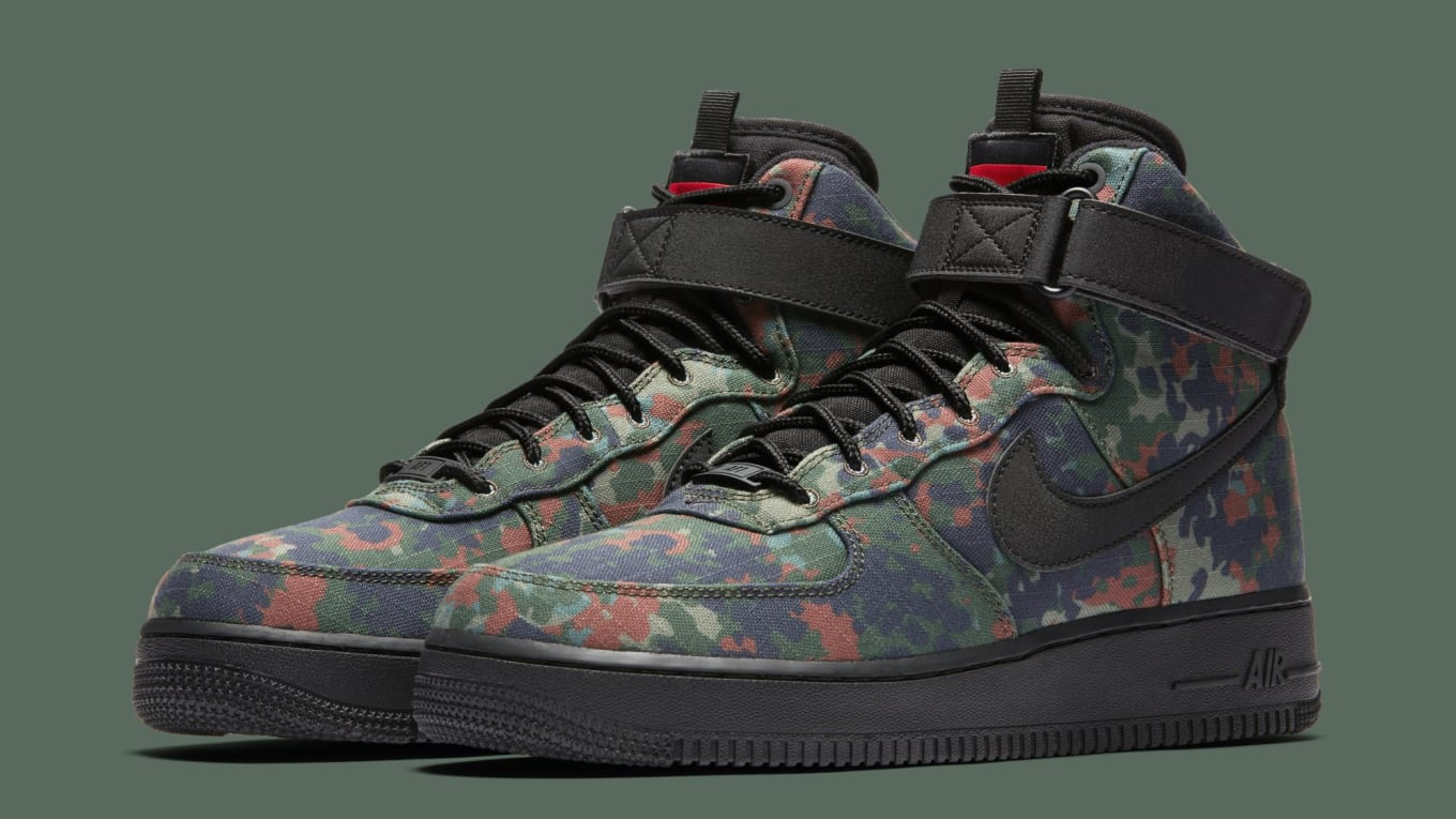 new photos 0adfb d65a4 Nikes Country Camo Theme Returns on the Air Force 1. With a pair  representing Germany.