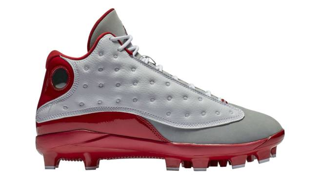 ec1211a9d67f5c  Grey Toe  Air Jordan 13 Baseball Cleats Are Available Now