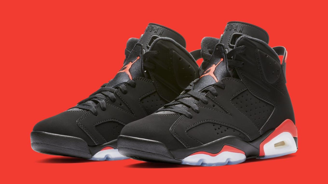 b50f1a2ca83b17 Detailed Look at the 2019  Black Infrared  Air Jordan 6