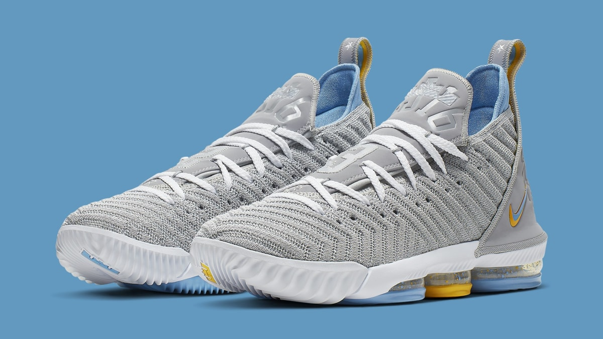 new product 33582 08a5e Nike LeBron 16 MPLS Release Date CK4765-001 Pair   Sole Collector