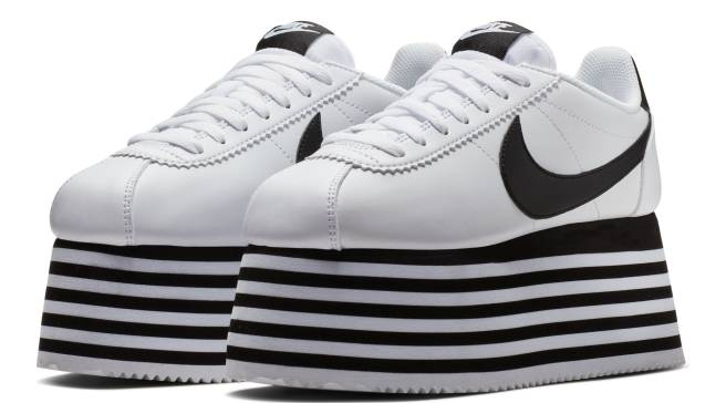 timeless design 5bab3 22ee4 Comme Des Garçons Lifts up the Nike Cortez