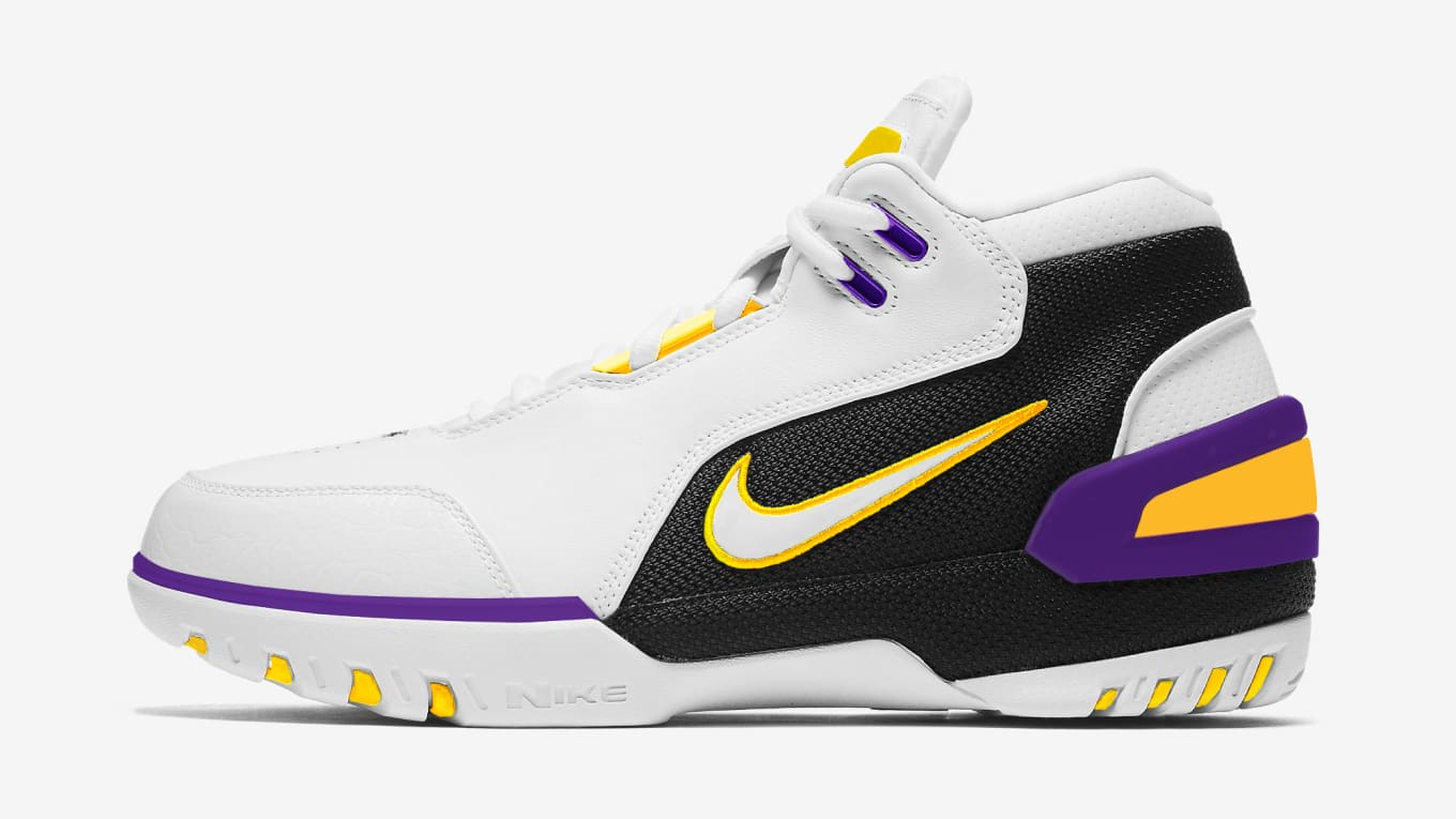 cheap for discount f9e63 d2059 Nike LeBron Lakers Colorways | Sole Collector