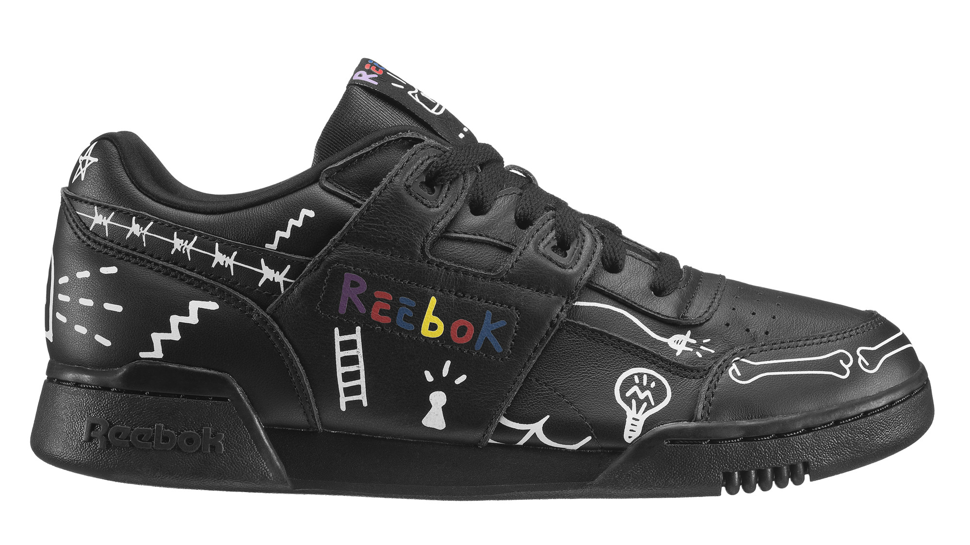e44d744f580 Trouble Andrew x Reebok Workout Plus  3 AM  Black Available Now ...