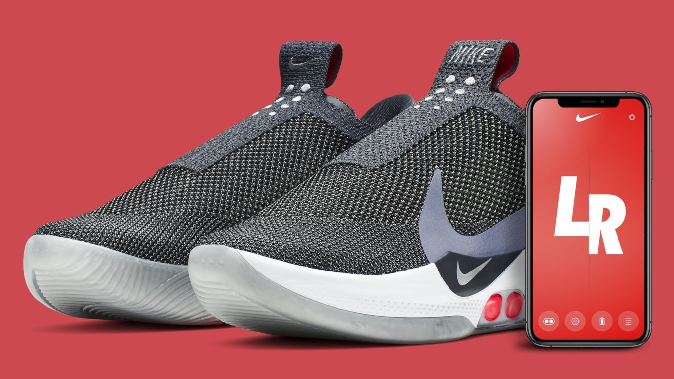 promo code a733a 2cbc3 Nike Adapt BB  Dark Grey  AO2582-004 Release Date   Sole Collector