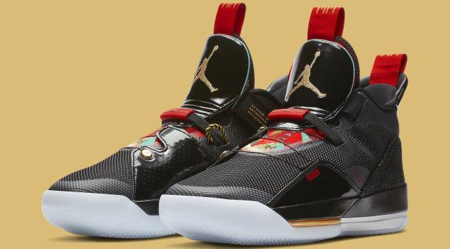 88ab4c70cd80 Here s An Official Look At the  Chinese New Year  Air Jordan 33