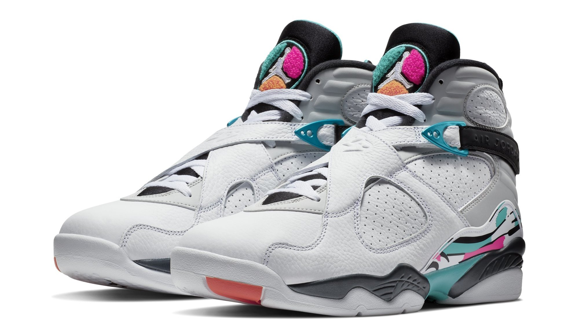 newest collection 08bb6 37ade Air Jordan 8 VIII South Beach Release Date 305381-113   Sole Collector