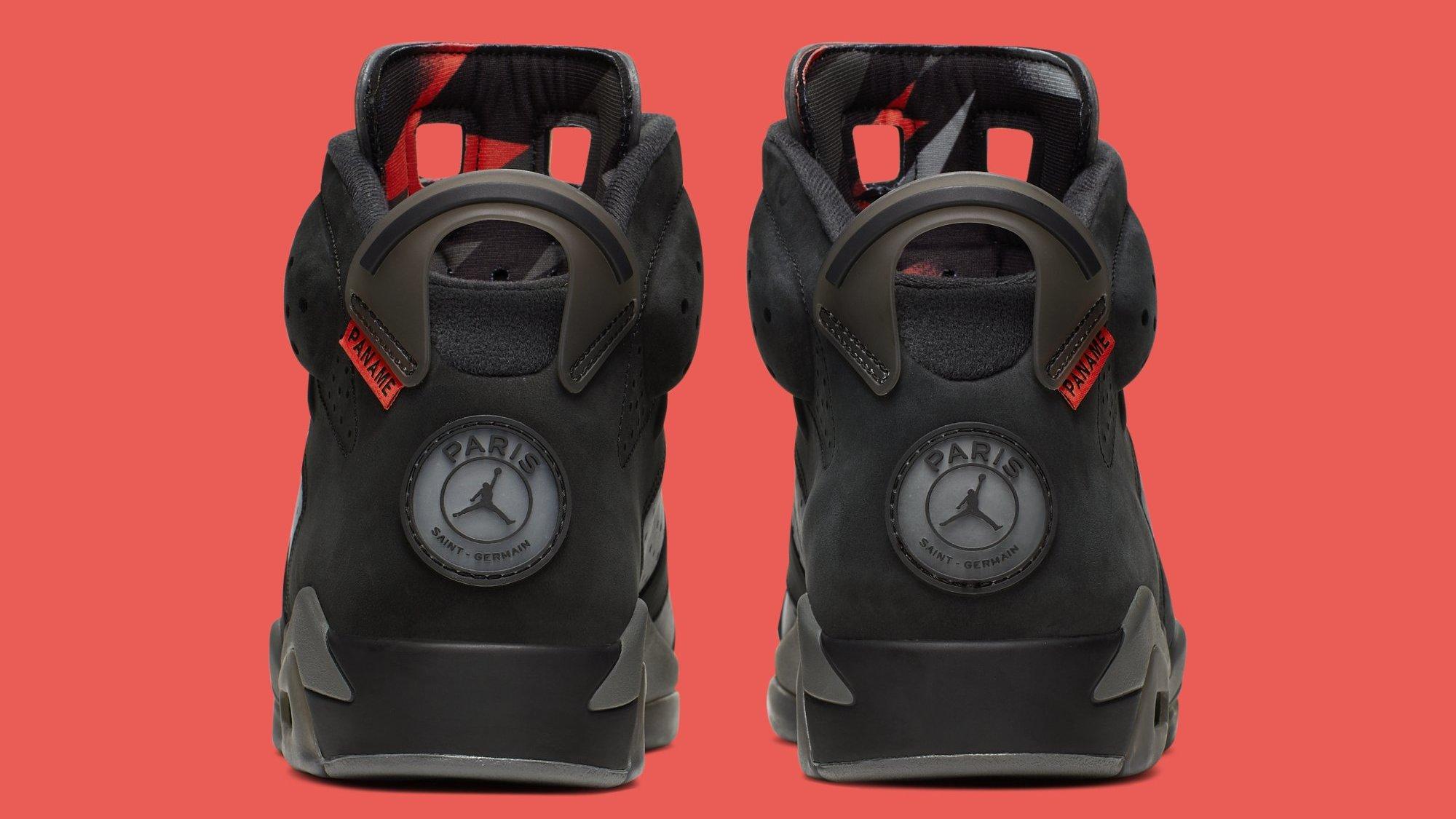 promo code cfbc8 26a2e Air Jordan 6 Retro 'PSG' Iron Grey/Infrared 23-Black CI4072 ...