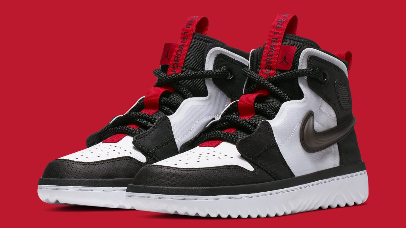 best shoes new product pick up Air Jordan 1 Retro High React 'White/Black/Red' AR5321-016 ...