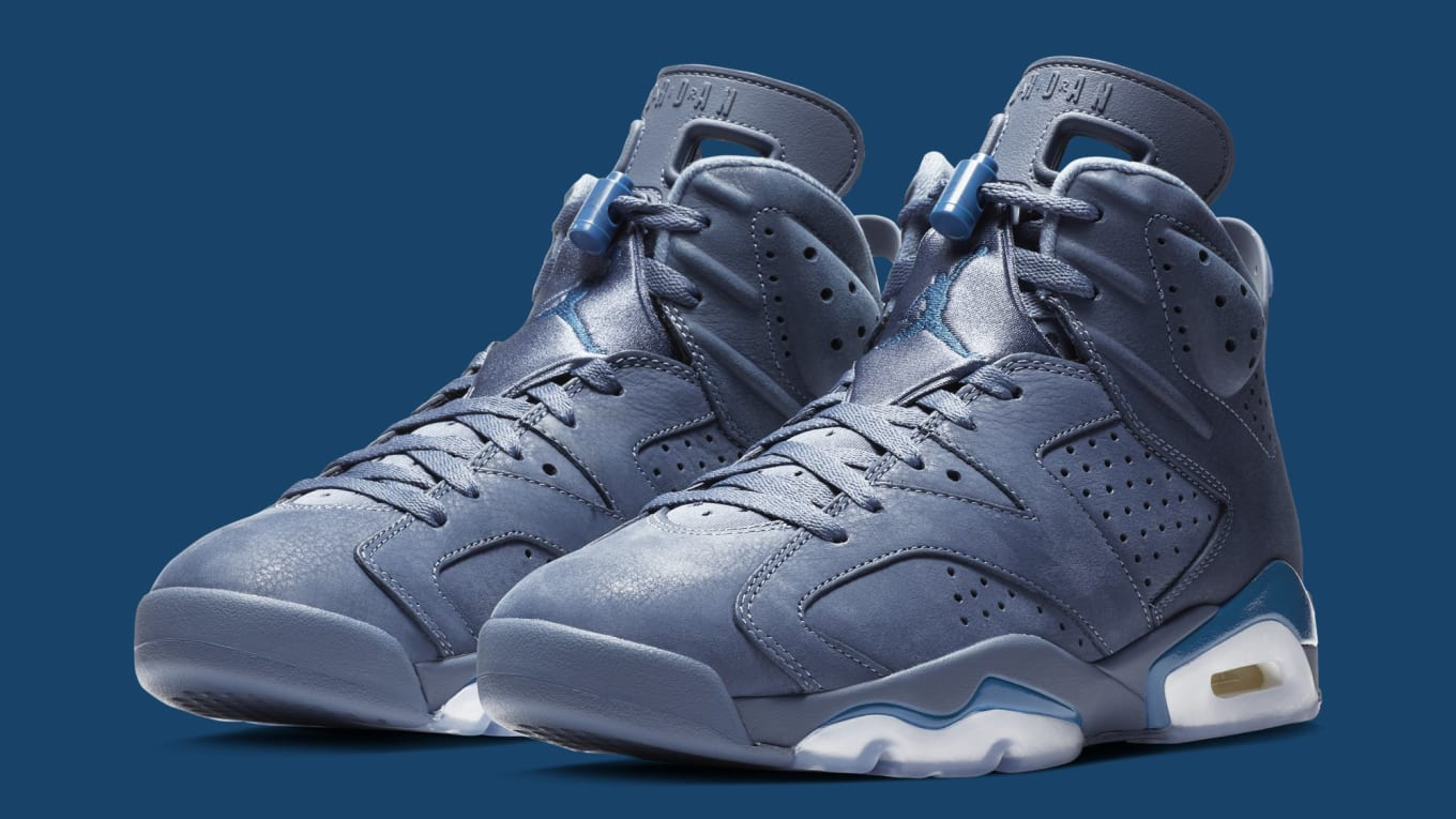 best loved f1ff5 fe198 Detailed Look at the  Diffused Blue  Air Jordan 6