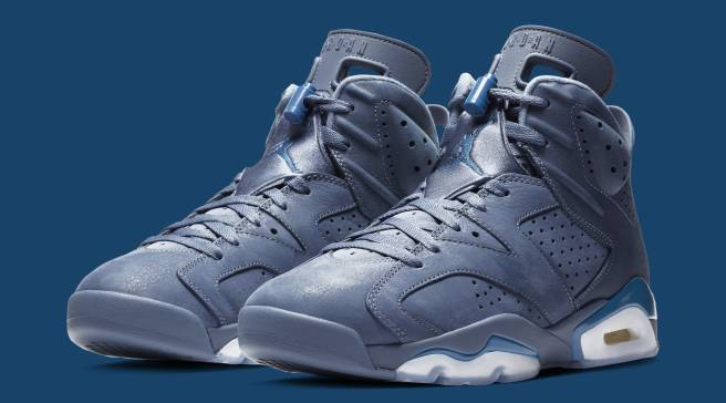 best loved bdb2e 963e3 Detailed Look at the  Diffused Blue  Air Jordan 6