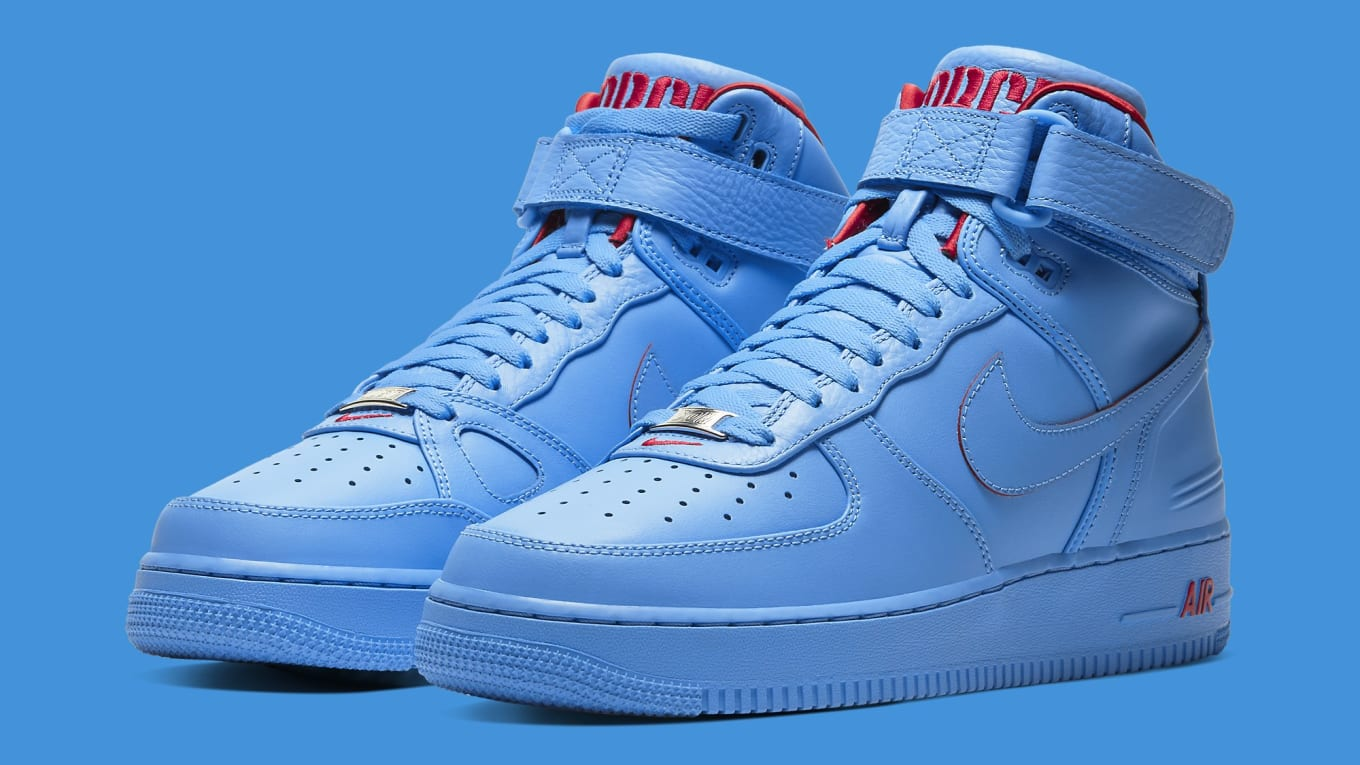 Don C x Nike Air Force 1 High 'Chicago' Release Date CW3812 ...