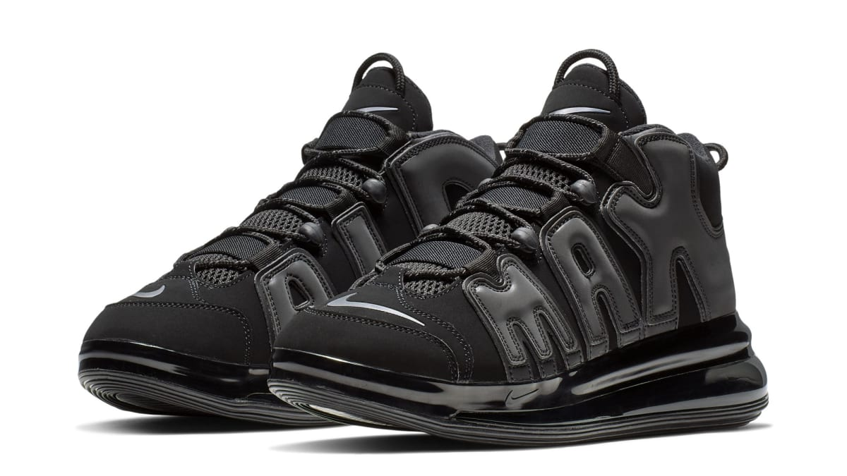 half off 7e36f b28da Nike Air More Uptempo 720 Black Release Date   Sole Collector