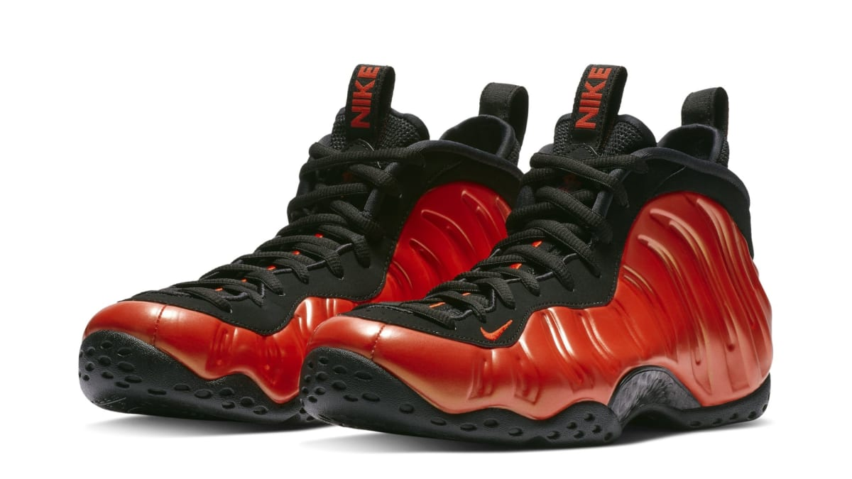 e50dbf8eeef ... cheap nike air foamposite one habanero red black release date 314996  604 sole collector fad96 4e85c