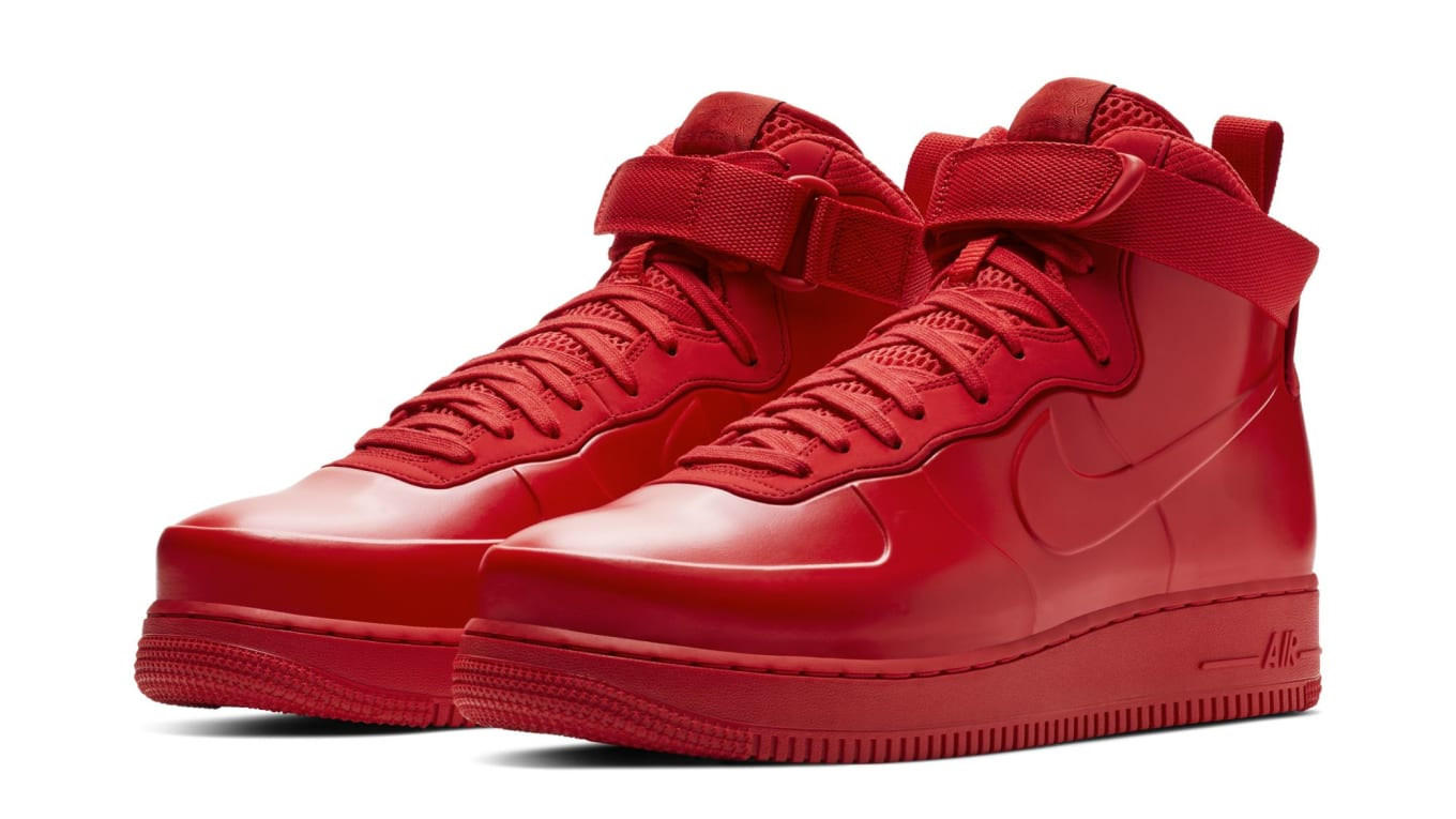 Nike Air Force 1 Foamposite  Red  Release Date  a41701b47