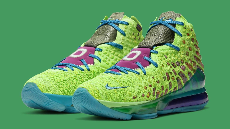 Nike Lebron 17 Mr Swackhammer Release Date Cv8075 300 Sole