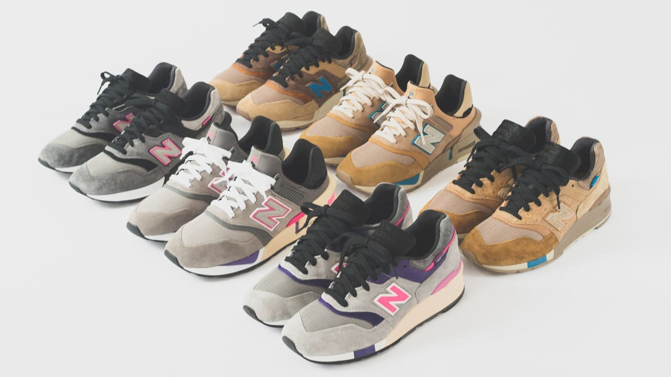 9711b26c5b4 Kith x United Arrows x Nonnative x New Balance 997 997S 997S Fusion ...
