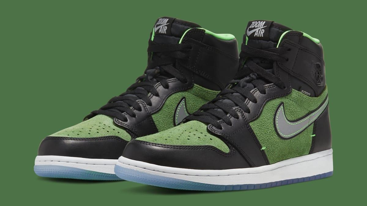 Best Look Yet at the 'Rage Green' Air Jordan 1 High Zoom