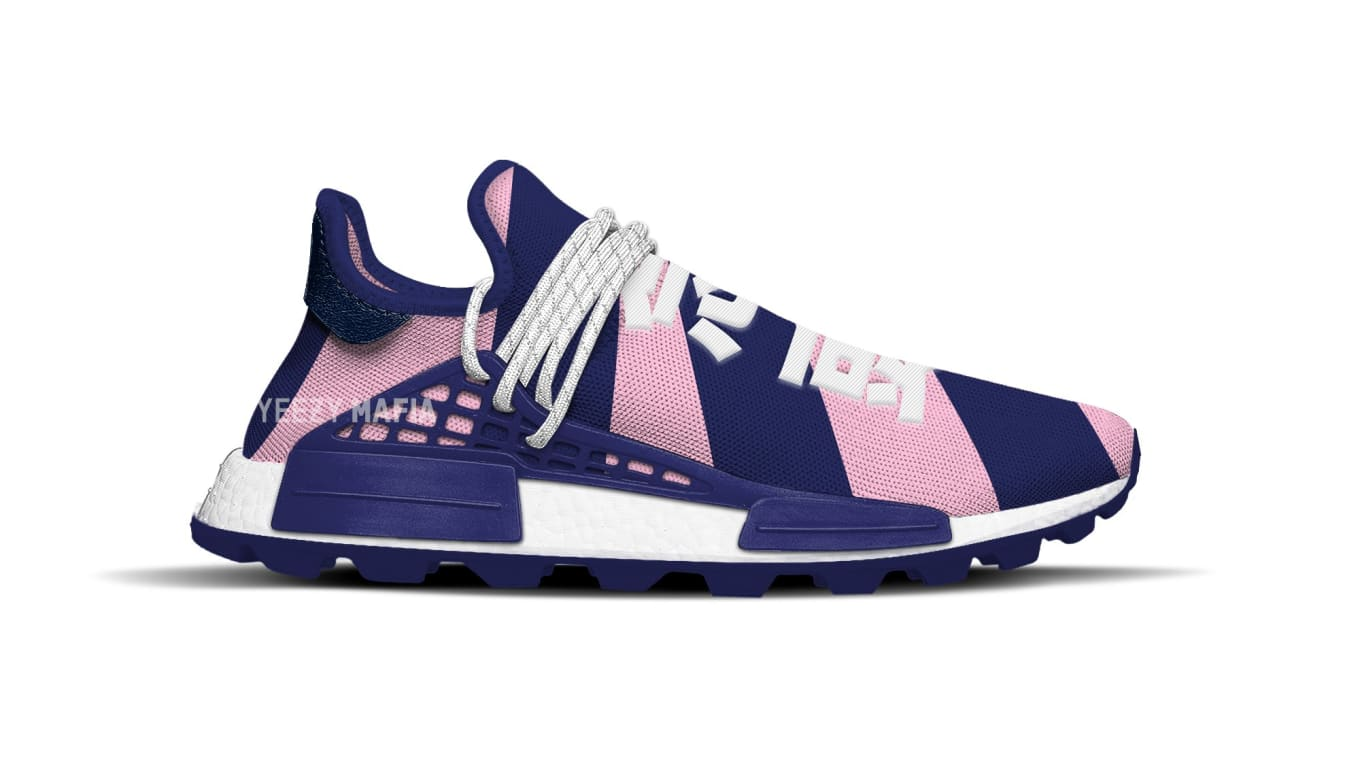 fa92b3eba9211 Pharrell Williams x Adidas NMD Hu BBC Exclusive  Heart Mind  Release ...