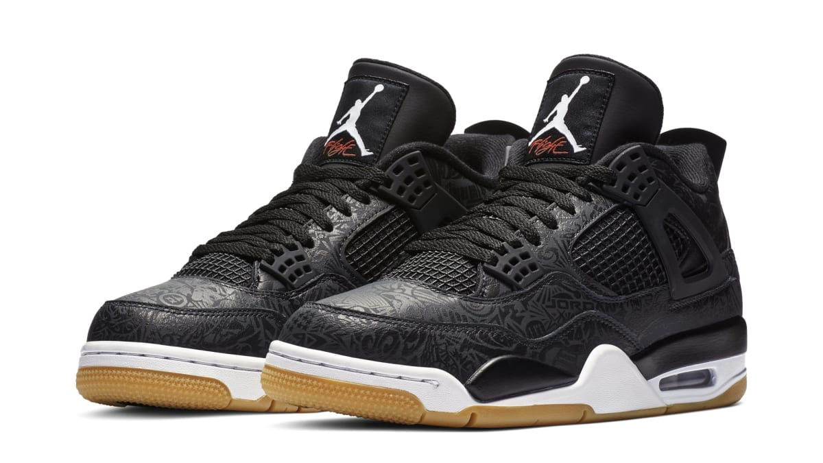 110c6ef8b35a3e Air Jordan 4 SE Retro  Laser  Black White-Gum Light Brown Release Date  CI1184-001