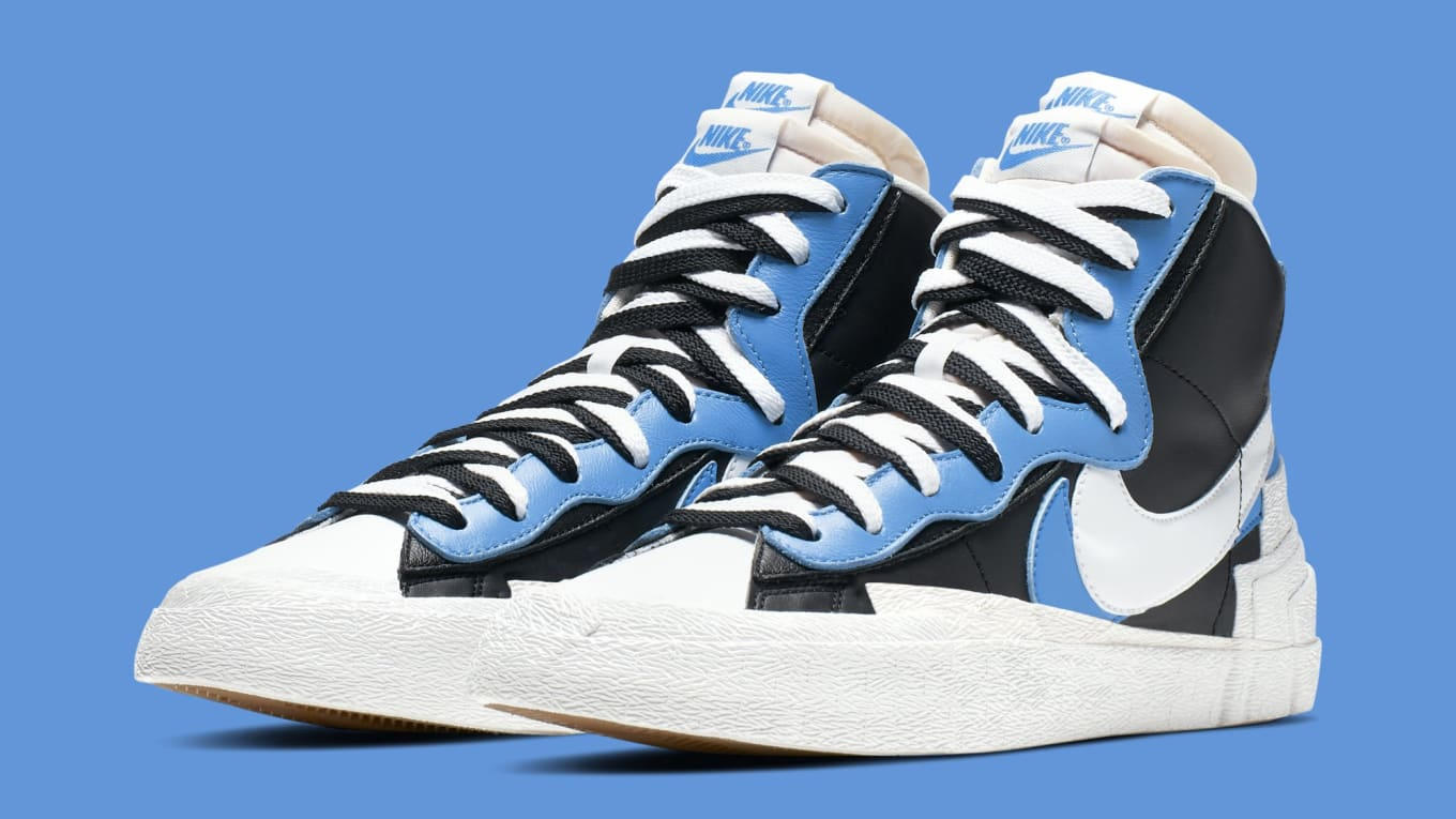 quality design 0ce15 f6fa3 Sacai x Nike Blazer High BV0072-001 BV0072-700 Collection ...