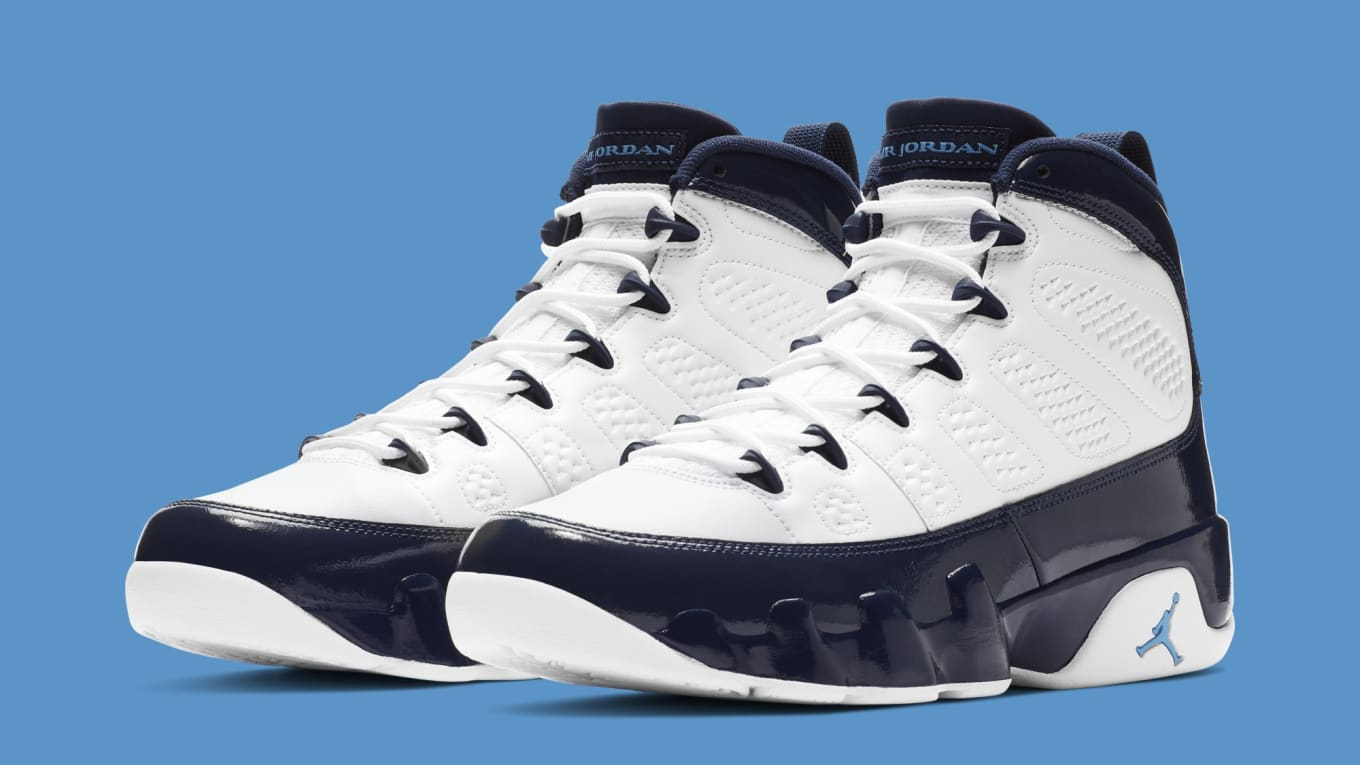 san francisco bd74d 82cf4 Best Look Yet at the  Pearl Blue  Air Jordan 9