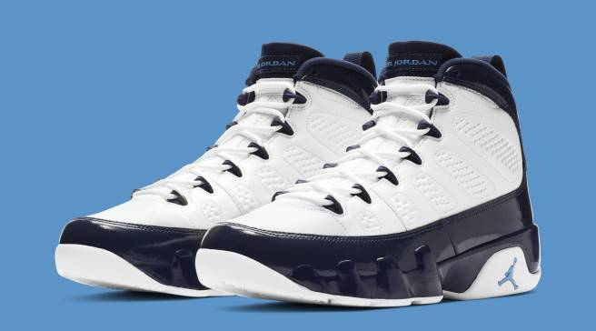 san francisco 444dc 21588 Best Look Yet at the  Pearl Blue  Air Jordan 9