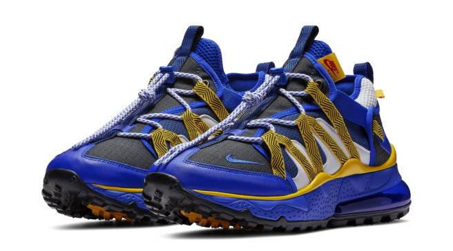 official photos 0d581 de057  Warriors  Colors on New Air Max 270 Bowfins. By Michael Conway