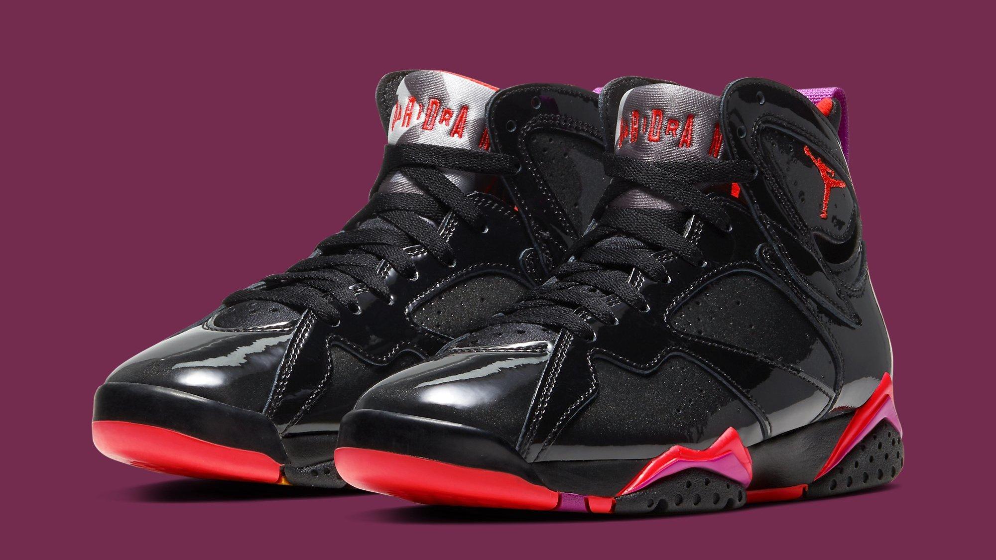 air jordan 7 retro noir et rouge