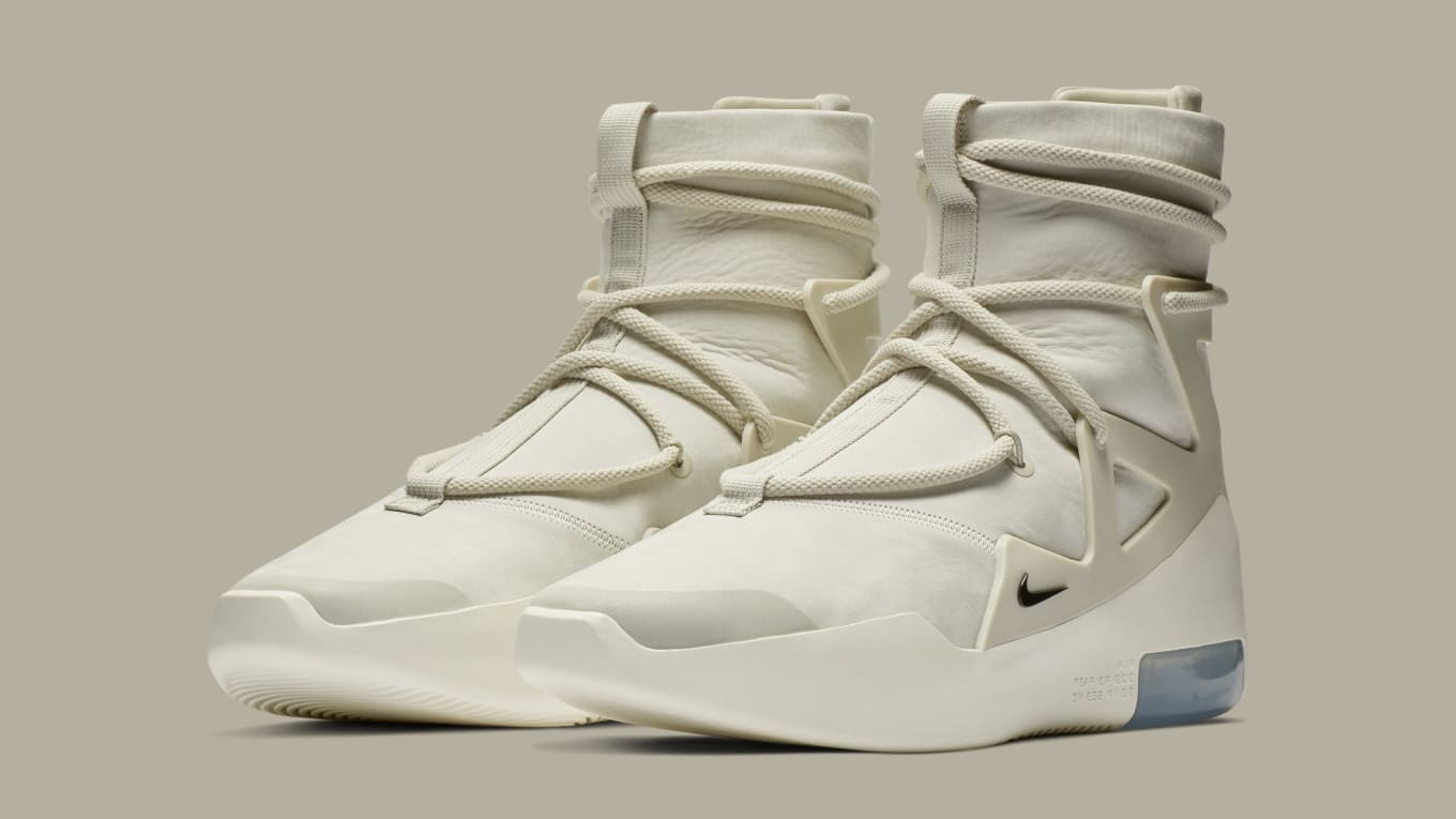 Nike Air Fear Of God 1 'Light BoneBlack' AR4237 002 Release
