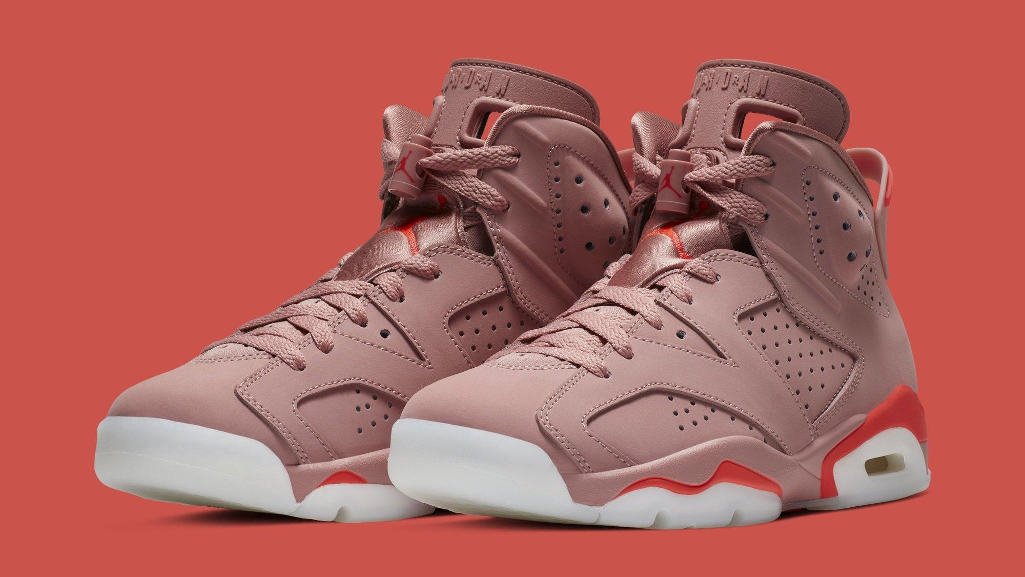 75e52882b84 Aleali May x Air Jordan 6 'Millennial Pink' CI0550-600 Release Date ...