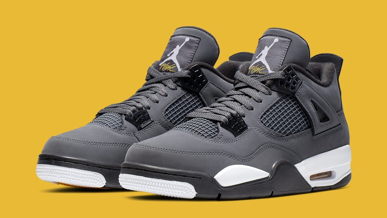 sneakers for cheap 776a1 4f9ca Air Jordan 4 'Cool Grey' 2019 Release Date 308497-007 | Sole ...