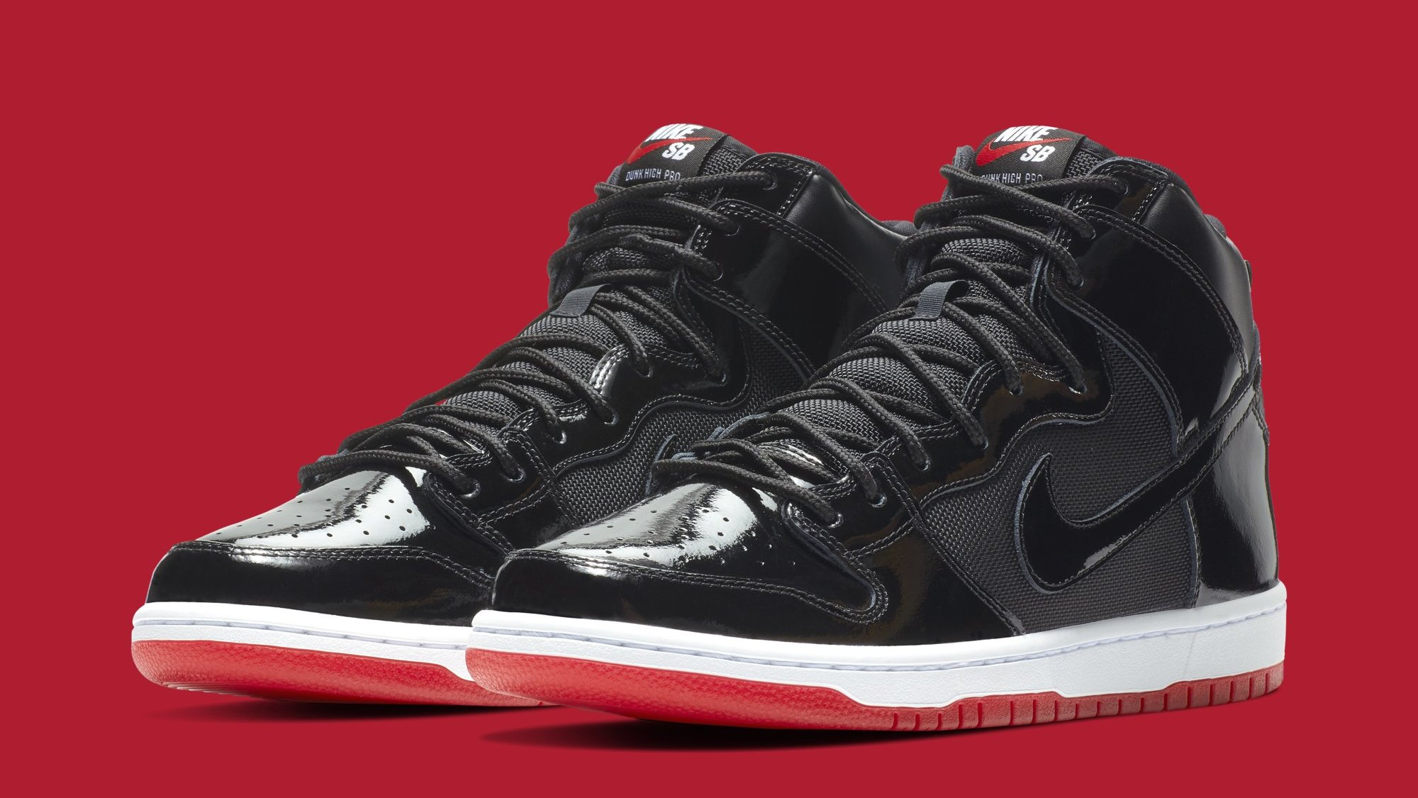 aa2b1e057e69 Nike SB Dunk High 'Bred' AJ7730-001 Release Date | Sole Collector