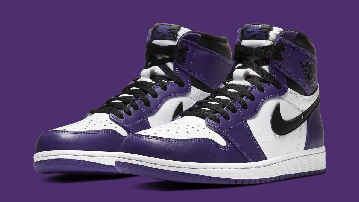 Air Jordan 1 Retro High OG 'Court Purple/White-Black' 555088 ...