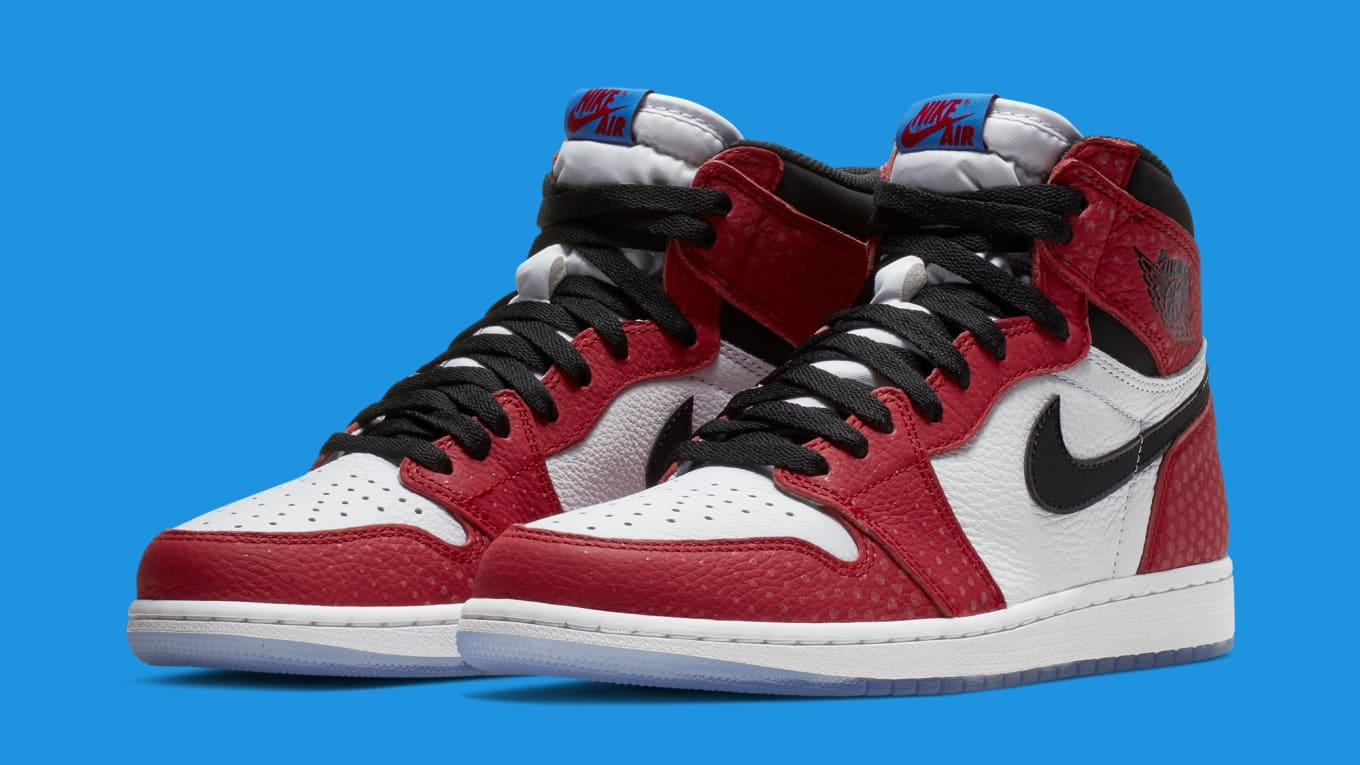 watch a60a1 aac38 Air Jordan 1 High OG 'Origin Story' 555088-602 Release Date ...