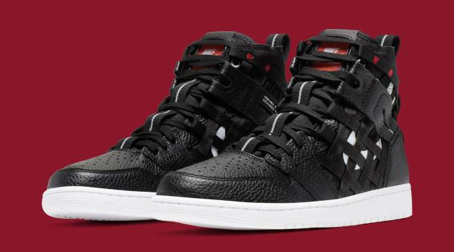 08e7a589ec87 These Air Jordan 1s Are Covered in Cargo Netting
